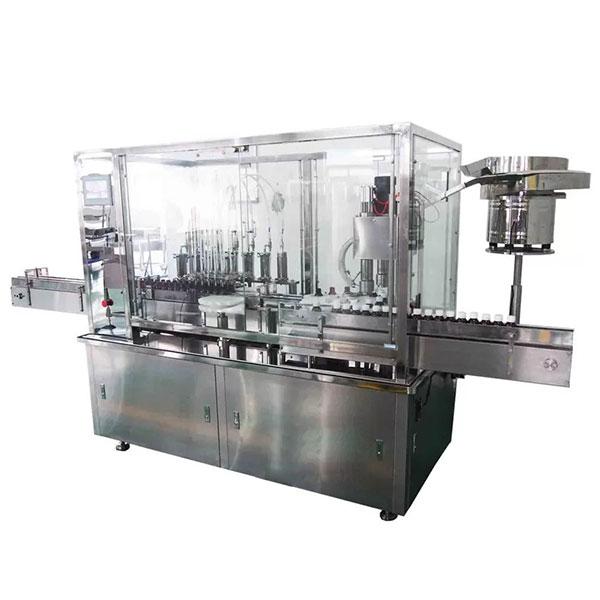 Машина 8 головок сиропа автоматическая заполняя и покрывая для фармацевтической производственной линии