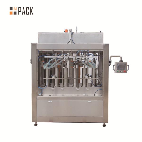 Пневматическая машина для наполнения бутылок с кремовой пастой